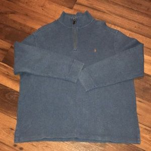 Polo Men's Half Zip Pullover Size XL